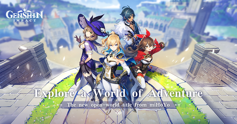 Genshin Impact Step Into A Vast Magical World Of Adventure